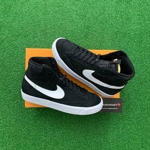 """🔘*NEW* Nike Blazer Mid 77 """"Black Suede"""""""